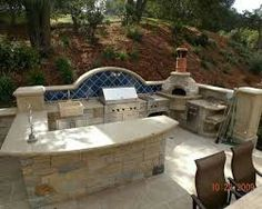outdoor kitchen designs featuring pizza ovens fireplaces and other cool accessories ideal patio