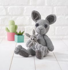 Who can resist Kate Hancock's adorable kangaroo and joey? Certainly not us! The pattern for this cute duo is in issue 56 of Simply Crochet.