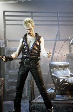 Billy Idol This video killed me.  I wanted to marry him.  I wasn't even 10 years old.