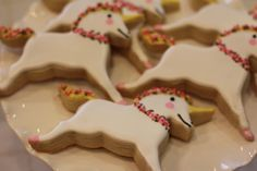 Cookies at a Unicorn Party #unicornparty #cookies