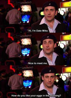 Michael scott online dating