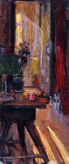 Akseli Gallen-Kallela aprilie 1865 - 7 martie - Entrance to Kalelas Dining Room Chur, Scandinavian Paintings, Glazing Techniques, Nordic Art, Z Arts, Painting Still Life, Various Artists, Room Paint, Oil Painting On Canvas