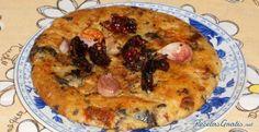 Aprende a preparar gACHAS DE PASTOR, AL BONILLA. con esta rica y fácil receta. En una sarten ponemos el aceite, unavez caliente echamos la panceta y los ajos con un...