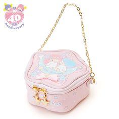 【2015】★Chain Bag ★11x5.5x11cm, Length of Chain: 30cm ★ #SanrioOriginal ★ #LittleTwinStars #40thAnniversary