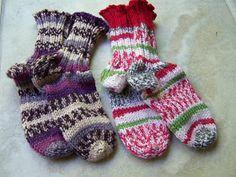 Olives and Mermaids and Wine, oh my...: Toe Up Raggi Socks