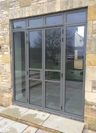 Designed to match original style. - August 10 2019 at Aluminium French Doors, French Doors With Screens, Aluminium Windows And Doors, French Doors Patio, Sliding Patio Doors, Wood Doors, Front Doors, Custom Exterior Doors, Interior Barn Doors