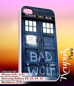 tardis Bad Wolf  iPhone 4/4s/5/5c/5s Case  Samsung by kyupuk, $14.50
