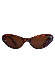 6cfac24cd5011 Ultimate Deadstock Smaller Lens Cat Eye Sunglasses - Tortoise Brown or Black
