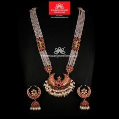 Classique Heritage Haar! Set Golden Jewelry, Gold Jewellery Design, Necklace Online, Jewelry Patterns, Jewelry Collection, Jewels, India Jewelry, Temple Jewellery, Jhumka Designs