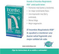 INCENTIVO RESPIRATORIO RSB Respira bien, Vive mejor! www.raulsendoya.com #Incentivo_Respiratorio #Ejercitador_Respiratorio #Ejercitador_para_pulmones #Spirometer #Lung_Exerciser #Estimulador_Respiratorio #Ejercitador_Pulmonar #Ejercicios_de_Respiracion #Entrenamiento_Respiratorio #Respiratory_Exerciser