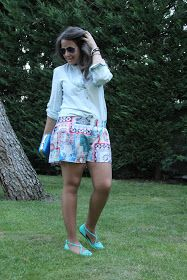 DIY Ropa: Shorts estampados para el verano.