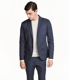 Cotton Blazer Slim fit  b135c866695c6