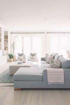 Interior Design Living Room, Living Room Designs, Home Living Room, Living Room Decor, Ideas Hogar, Home Comforts, Home Decor Inspiration, Family Room, New Homes