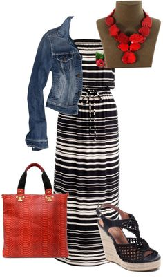 """Red Turquoise"" by stacalyn on Polyvore"