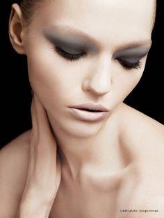 Sasha Pivovarova for Giorgio Armani beauty