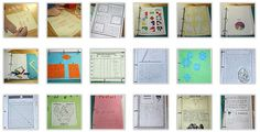 Math Notebooking - A treasure trove of math notebooking ideas!