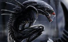 Alien by Alpenminuial