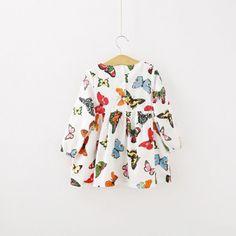 $4.27 (Buy here: https://alitems.com/g/1e8d114494ebda23ff8b16525dc3e8/?i=5&ulp=https%3A%2F%2Fwww.aliexpress.com%2Fitem%2FStylish-Baby-Children-Tunic-Dress-Toddler-Girl-Long-Sleeve-Butterfly-Outfits-2-6-years-New%2F32614306839.html ) Stylish Baby Children Tunic Dress Toddler Girl Long Sleeve Butterfly Outfits 2-6 years New for just $4.27