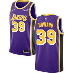 Charlotte Hornets Dwight Howard Statement Purple Swingman Jersey