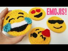 Cute Crochet Emojis – Crafting Time