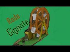 Como fazer uma Roda Gigante - Passo a Passo com Papel Paraná e palitos - Artesanato - YouTube