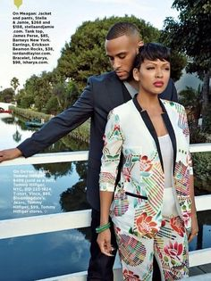 It's been over a year for Hollywood star couple, Meagan Good and DeVon Franklin and the fire still seems to be burning between these two. We cau Black Love Couples, Cute Couples, Power Couples, Black Celebrity Couples, Celebrity Style, My Black Is Beautiful, Beautiful Family, Black Celebrities, Celebs