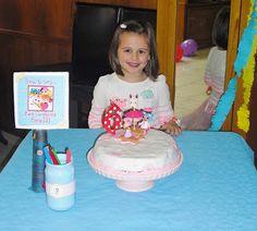 Lala attività: firma la torta di compleanno