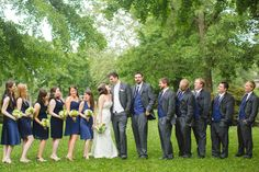 Navy and White Wedding in Knoxville, Tn