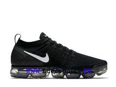 best deals on 78583 b083f Nike Vapormax Flyknit 2.0 Chaussures Nike 2018 Pas Cher Pour Homme Noir  Blanc 942842-001