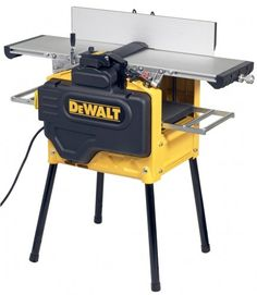 CVA DeWalt Planer Thicknesser 240 Volt ** (with Accessory Pack Woodworking Power Tools, Carpentry Tools, Woodworking Shop, Woodworking Plans, Woodworking Projects, Garage Atelier, Dewalt Power Tools, Electrical Tools, Tool Storage