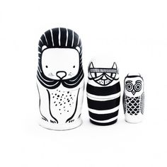 Wee Gallery - Wee Gallery Nesting Dolls - Baby clothing, maternity and baby shower gifts