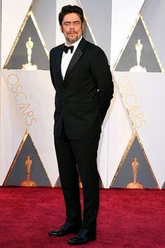 Benicio del Toro à la cérémonie des Oscars 2016