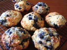 Blueberry Buttermilk Muffins Recipe!