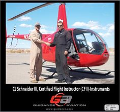 Another professional helicopter pilot made! CJ Schneider III at www.guidance.aero