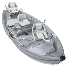 The NRS Freestone Drifter is inflatable and includes a break-down frame system. It's perfect for those technical streams where the fishing's great but a rigid drift boat hull isn't practical. Boat Accessories, Camping Accessories, Used Fishing Boats, Floating Raft, Big Pools, Inflatable Boat, Boat Plans, Boats For Sale, Kayak Fishing