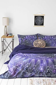 Magical Thinking Cosmic Medallion Duvet Cover  - Urban Outfitters