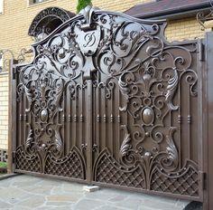 Grill Gate Design, Main Gate Design, Iron Gates, Steel, Furniture, Home Decor, Steel Furniture, Doors, Blue Prints