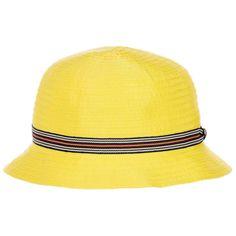 0d415edd330 Boys Yellow Grosgrain Sun Hat