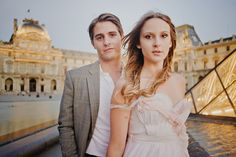 Paris elopement: These two are stunning!