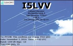 eQSL From I5LVV