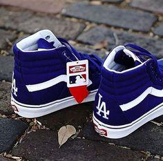"""MLB X Vans Sk8-hi """"LA Dodgers"""""""