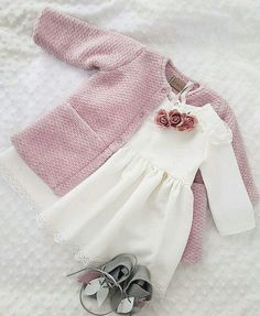 New baby outfits cutest 42 ideas Baby Outfits, Little Girl Outfits, Cute Outfits For Kids, Baby Girl Dress Patterns, Baby Girl Dresses, Baby Dress, Baby Girl Fashion, Toddler Fashion, Kids Fashion