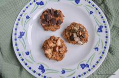 Fursecuri cu ovaz si banane - cookies fara zahar | Savori Urbane Energy Bars, Raw Vegan, Granola, Sugar Free, Waffles, Biscuits, Deserts, Muffin, Yummy Food