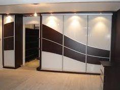 نتيجة بحث الصور عن glass wardrobe door designs for bedroom indian