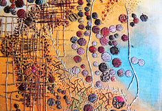 textile artist brysha spoils of oil detail 2 Spotlight on Stitching and Beyond – Part Three