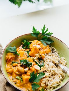 Afrikanischer Süßkartoffeleintopf African sweet potato stew The post African sweet potato stew & Lecker Essen appeared first on Vegan rezepte . Veggie Recipes, Vegetarian Recipes, Healthy Recipes, Stewed Potatoes, Good Food, Yummy Food, International Recipes, Food Inspiration, The Best