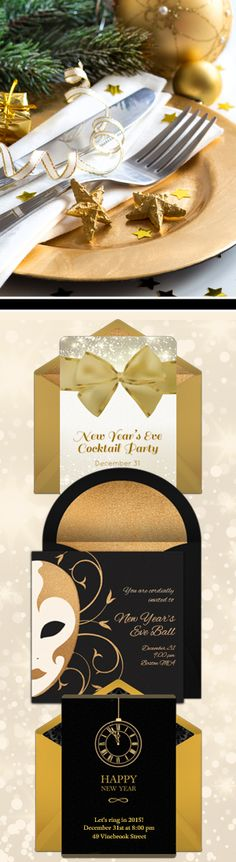 Paper invites are too formal, and emails are too casual. Get it just right with online invitations from Punchbowl. We've got everything you need for your New Year's party. http://www.punchbowl.com/online-invitations/category/29/?utm_source=Pinterest&utm_medium=18.43P