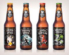 Grimm Brothers Beer Bottles