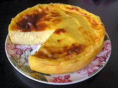 Flan pâtissier sans pâte Chef Simon, Custard, Cheesecakes, Apple Pie, Sweet Tooth, Sweets, Cream, Cooking, Mousse