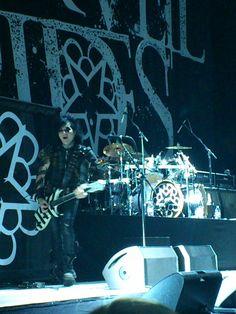 Black Veil Brides live 2012 - Jinxx